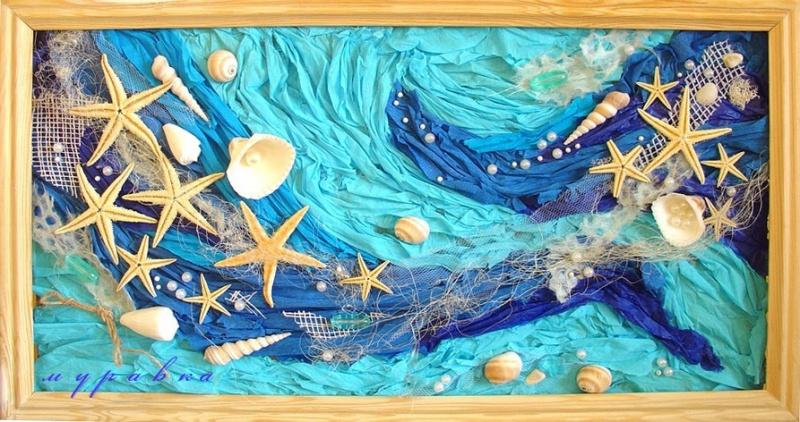 Картины своими руками на тему море